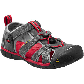 Keen Seacamp II CNX Sandals Children Magnet/Racing Red